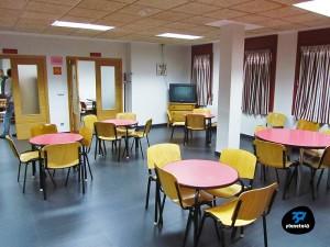 sala de talleres albergue villanúa
