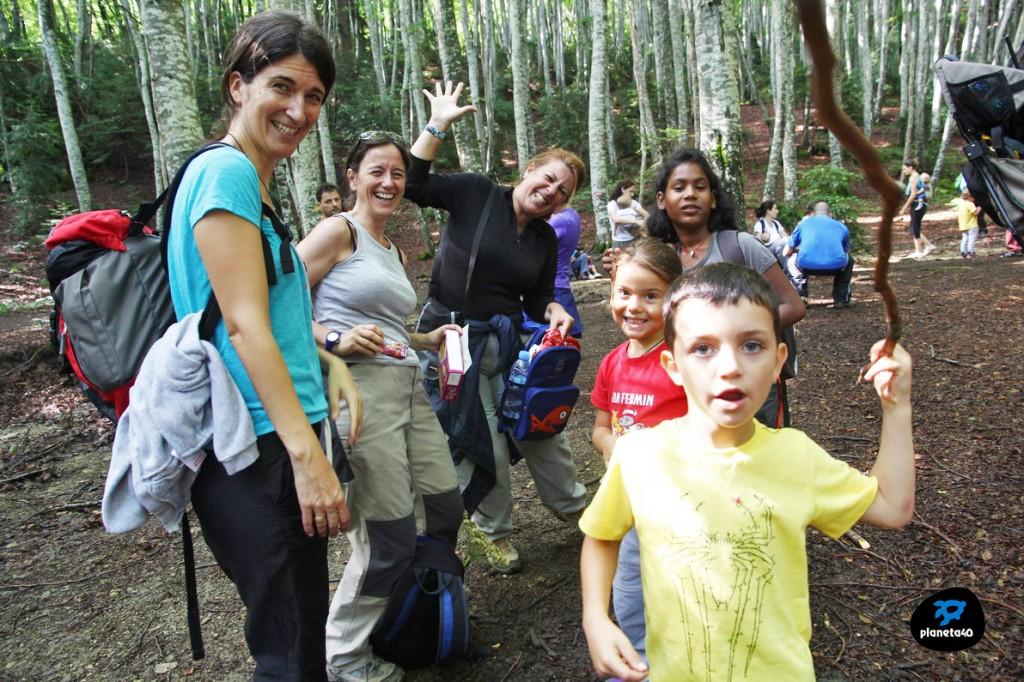 Excursiones por el pirineo en familia