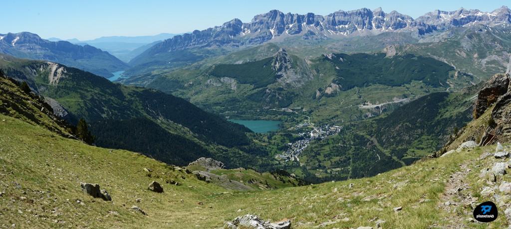 Valle de Tena desde Musales