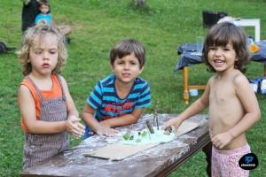 arte y naturaleza con niños