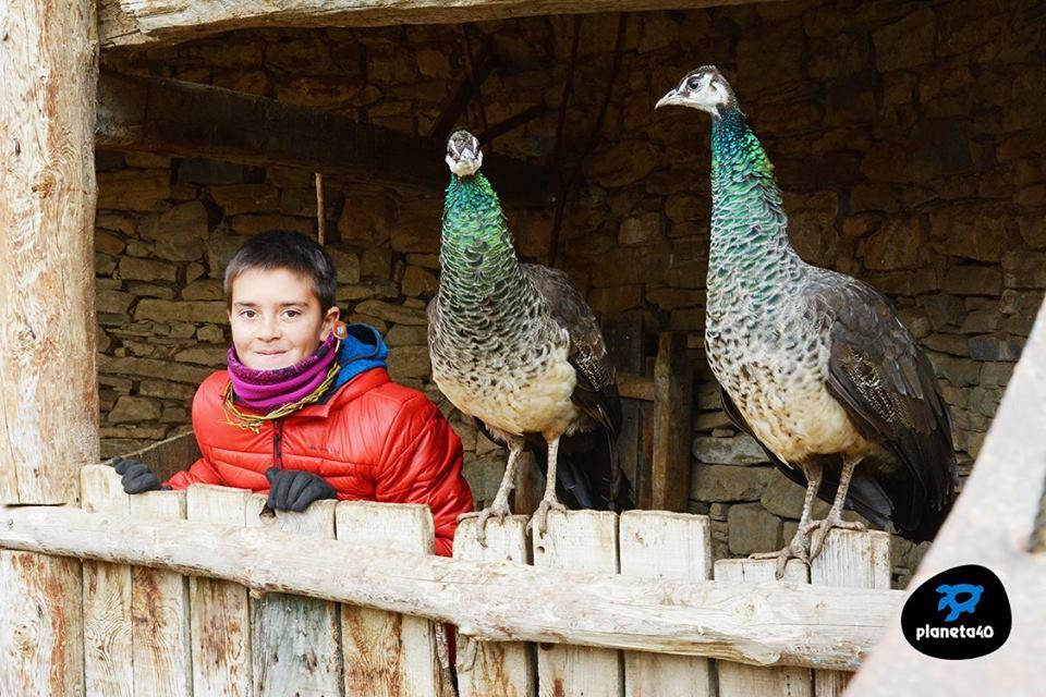 Granja Riorcal en familia